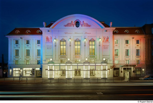 Konzerthaus Wien, New Lighting Design by Victoria Coeln, Vienna, Austria.